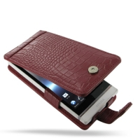 10% OFF + FREE SHIPPING, Buy Best PDair Top Quality Handmade Protective Sony Xperia S Leather Flip Case (Red Croc Pattern). Pouch Sleeve Holster Wallet You also can go to the customizer to create your own stylish leather case if looking for additional col