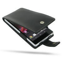 Leather Flip Case for Sony Xperia Z L36H