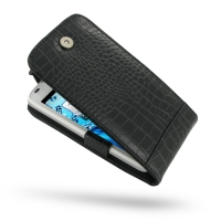 10% OFF + FREE SHIPPING, Buy PDair Quality Handmade Protective Acer Liquid Gallant Duo Genuine Leather Flip Top Case (Black Croc Pattern) online You also can go to the customizer to create your own stylish leather case if looking for additional colors, pa