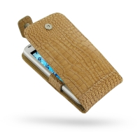 10% OFF + FREE SHIPPING, Buy PDair Quality Handmade Protective Acer Liquid Gallant Duo Genuine Leather Flip Top Case (Brown Croc Pattern) online You also can go to the customizer to create your own stylish leather case if looking for additional colors, pa