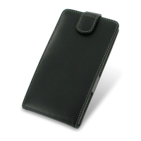 Acer Liquid S1 Leather Flip Top Case PDair Premium Hadmade Genuine Leather Protective Case Sleeve Wallet
