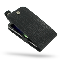 10% OFF + FREE SHIPPING, Buy PDair Quality Handmade Protective Asus PadFone 2 Genuine Leather Flip Top Case (Black Croc Pattern) online You also can go to the customizer to create your own stylish leather case if looking for additional colors, patterns an