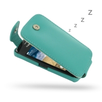 10% OFF + FREE SHIPPING, Buy Best PDair Quality Handmade Protective BlackBerry Curve 9380 Genuine Leather Flip Top Case (Aqua). Pouch Sleeve Holster Wallet You also can go to the customizer to create your own stylish leather case if looking for additional