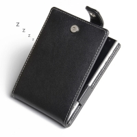 Leather Flip Top Case for BlackBerry Passport