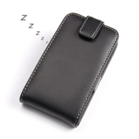 BlackBerry Q5 Leather Flip Top Case PDair Premium Hadmade Genuine Leather Protective Case Sleeve Wallet