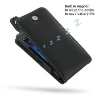Leather Flip Top Case for BlackBerry Z10