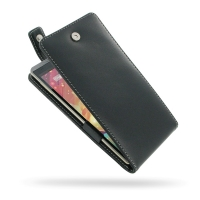 Leather Flip Top Case for HP Slate 6 VoiceTab