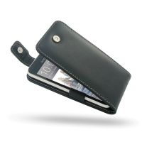 Leather Flip Top Case for HTC Desire 300