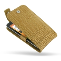 10% OFF + FREE SHIPPING, Buy Best PDair Quality Handmade Protective Sprint HTC EVO 4G LTE Leather Flip Top Case (Brown Croc Pattern) You also can go to the customizer to create your own stylish leather case if looking for additional colors, patterns and t
