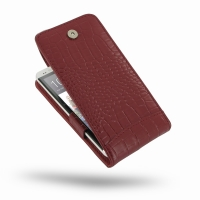 10% OFF + FREE SHIPPING, Buy Best PDair Top Quality Handmade Protective HTC One Leather Flip Top Case (Red Croc Pattern) online. Pouch Sleeve Holster Wallet You also can go to the customizer to create your own stylish leather case if looking for additiona