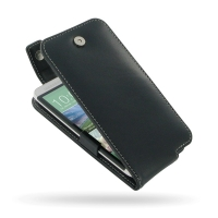 Leather Flip Top Case for HTC One E8