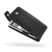 Leather Flip Top Case for HTC One mini 601