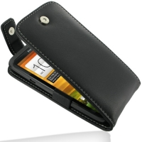 Leather Flip Top Case for HTC One X+ Plus