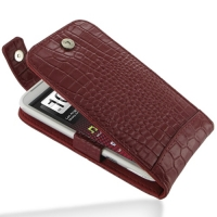 10% OFF + FREE SHIPPING, Buy Best PDair Quality Handmade Protective HTC Sensation XL Leather Flip Top Case (Red Croc Pattern) online. You also can go to the customizer to create your own stylish leather case if looking for additional colors, patterns and
