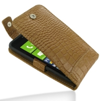 10% OFF + FREE SHIPPING, Buy Best PDair Top Quality Handmade Protective HTC Titan Leather Flip Top Case (Brown Croc Pattern). Pouch Sleeve Holster Wallet You also can go to the customizer to create your own stylish leather case if looking for additional c