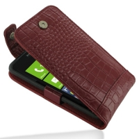 10% OFF + FREE SHIPPING, Buy Best PDair Top Quality Handmade Protective HTC Titan Leather Flip Top Case (Red Croc Pattern). Pouch Sleeve Holster Wallet You also can go to the customizer to create your own stylish leather case if looking for additional col