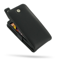 Huawei Ascend D1 XL Leather Flip Top Case PDair Premium Hadmade Genuine Leather Protective Case Sleeve Wallet