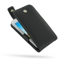 Huawei U8825D Leather Flip Top Case PDair Premium Hadmade Genuine Leather Protective Case Sleeve Wallet
