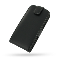 Huawei Ascend P1 LTE Leather Flip Top Case PDair Premium Hadmade Genuine Leather Protective Case Sleeve Wallet
