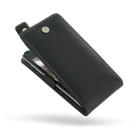Huawei Ascend P1 U9200 Leather Flip Top Case PDair Premium Hadmade Genuine Leather Protective Case Sleeve Wallet