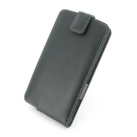 LG G3 Leather Flip Top Case PDair Premium Hadmade Genuine Leather Protective Case Sleeve Wallet