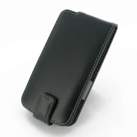 LG L90-D410 Leather Flip Top Case PDair Premium Hadmade Genuine Leather Protective Case Sleeve Wallet