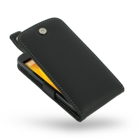 Nexus 4 Leather Flip Top Case PDair Premium Hadmade Genuine Leather Protective Case Sleeve Wallet
