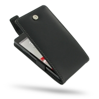 LG Optimus G Leather Flip Top Case PDair Premium Hadmade Genuine Leather Protective Case Sleeve Wallet