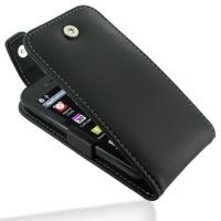 Leather Flip Top Case for LG Optimus SOL E730
