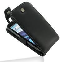 Leather Flip Top Case for Motorola Atrix 2 MB865