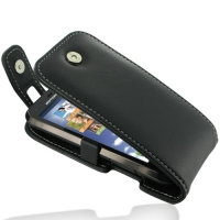 Motorola Defy XT535 Leather Flip Top Case PDair Premium Hadmade Genuine Leather Protective Case Sleeve Wallet