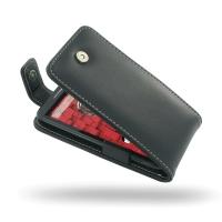 Motorola Droid Mini Leather Flip Top Case PDair Premium Hadmade Genuine Leather Protective Case Sleeve Wallet