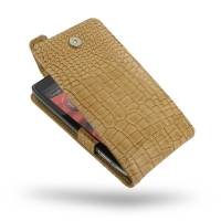 10% OFF + FREE SHIPPING, Buy PDair Quality Handmade Protective Motorola Droid Razr HD Leather Flip Top Case (Brown Croc Pattern) online. You also can go to the customizer to create your own stylish leather case if looking for additional colors, patterns a