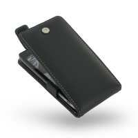 Leather Flip Top Case for Motorola Droid Razr Maxx HD