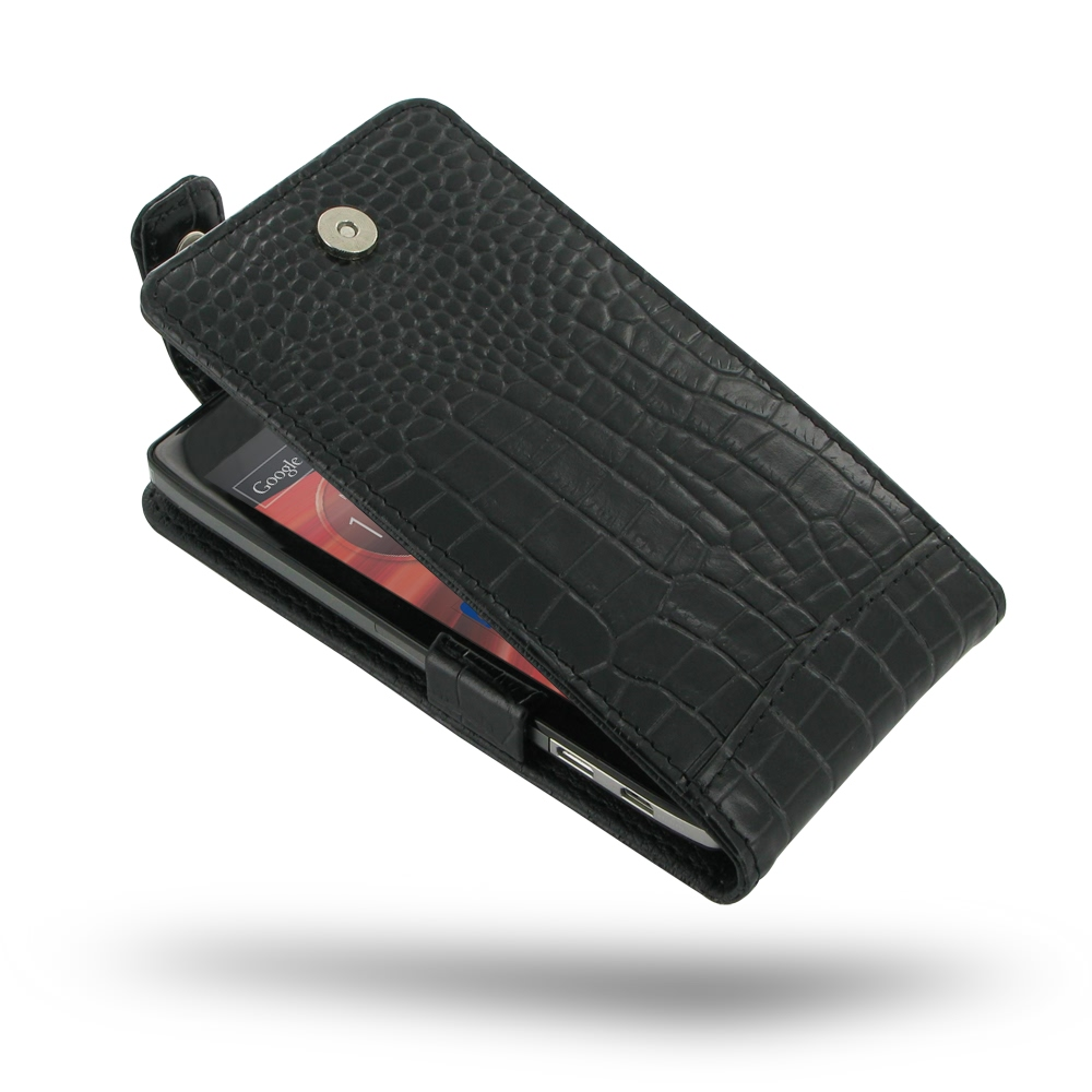 10% OFF + FREE SHIPPING, Buy PDair Quality Handmade Protective Motorola Droid Razr Maxx HD Leather Flip Top Case (Black Croc Pattern). You also can go to the customizer to create your own stylish leather case if looking for additional colors, patterns and