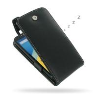 Leather Flip Top Case for Motorola Moto G (2nd Gen) XT1063