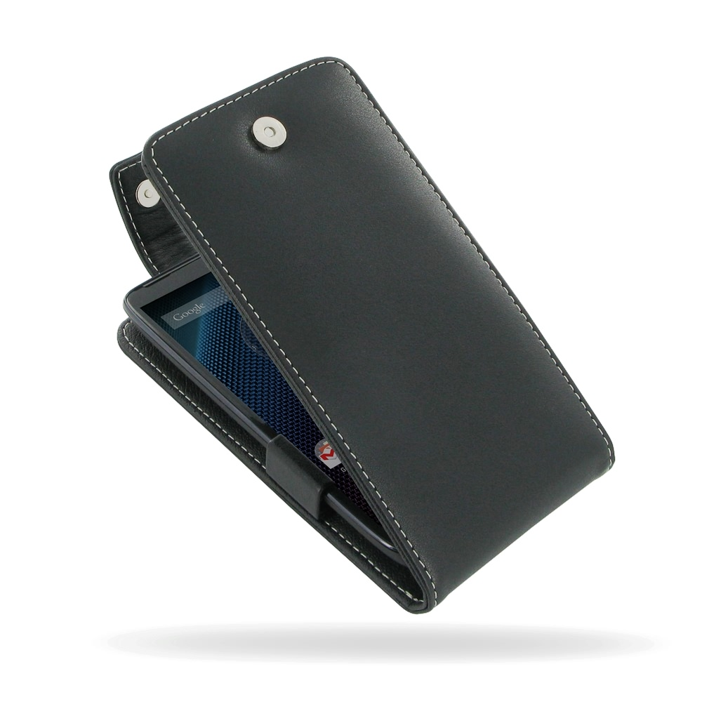 moto maxx leather flip top case pdair sleeve pouch. Black Bedroom Furniture Sets. Home Design Ideas
