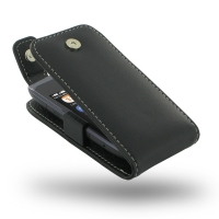 Leather Flip Top Case for Nokia Asha 308 309