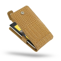 10% OFF + FREE SHIPPING, Buy Best PDair Quality Handmade Protective Nokia Lumia 520 Leather Flip Top Case (Brown Croc Pattern) online. You also can go to the customizer to create your own stylish leather case if looking for additional colors, patterns and
