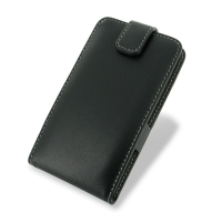 Nokia Lumia 625 Leather Flip Top Case PDair Premium Hadmade Genuine Leather Protective Case Sleeve Wallet