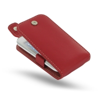 Leather Flip Top Case for Samsung Galaxy Ace Duos GT-S6802 (Red)