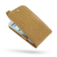 10% OFF + FREE SHIPPING, Buy Best PDair Quality Handmade Protective Samsung Galaxy Grand Leather Flip Top Case (Brown Croc Pattern). You also can go to the customizer to create your own stylish leather case if looking for additional colors, patterns and t