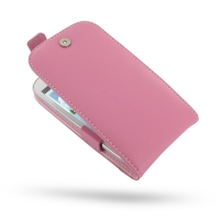 Leather Flip Top Case for Samsung Galaxy Grand Duos GT-i9082 GT-i9080 (Petal Pink)