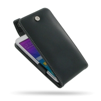Samsung Galaxy Grand Max Leather Flip Top Case PDair Premium Hadmade Genuine Leather Protective Case Sleeve Wallet