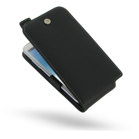 Leather Flip Top Case for Samsung Galaxy Note 2 | Samsung Galaxy Note2 | GT-N7100