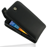 Leather Flip Top Case for Samsung Galaxy S II Epic 4G Touch SPH-D710