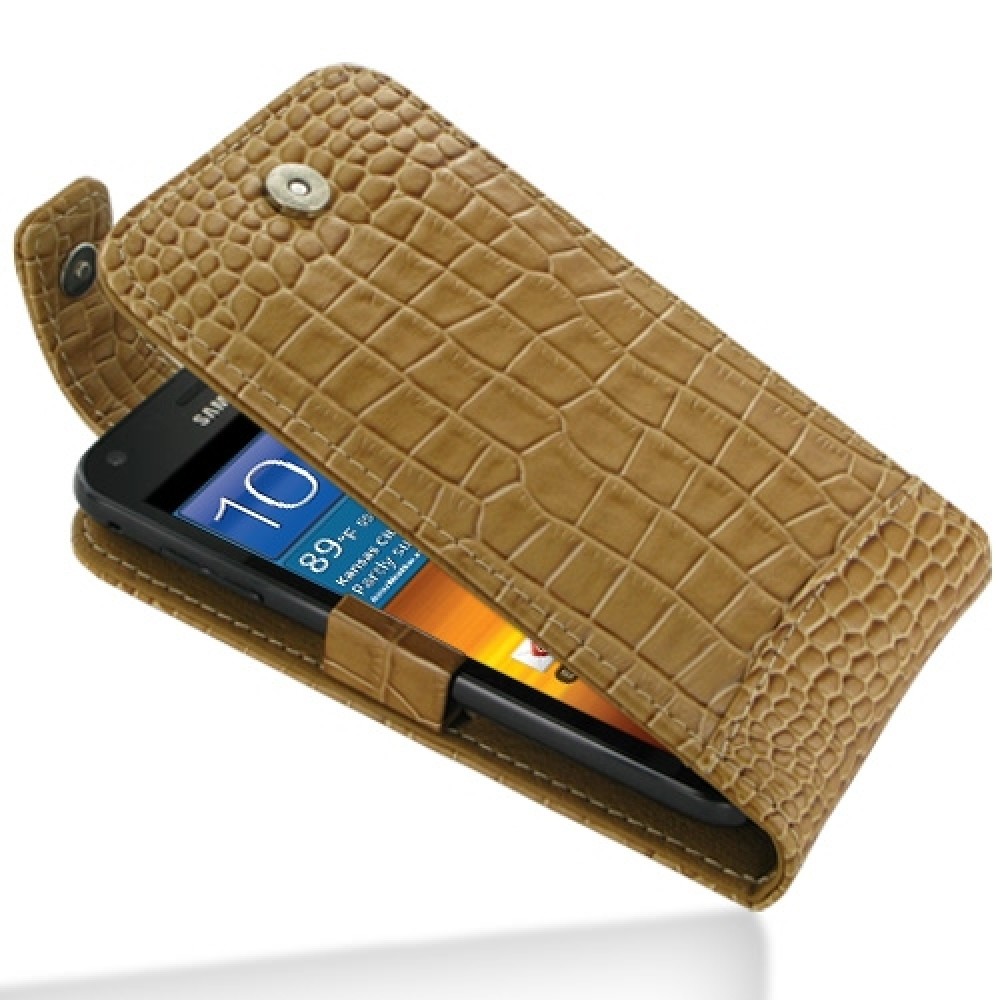 10% OFF + FREE SHIPPING, Buy PDair Quality Handmade Protective Samsung Galaxy S2 Epic Leather Flip Top Case (Brown Croc Pattern) online. You also can go to the customizer to create your own stylish leather case if looking for additional colors, patterns a