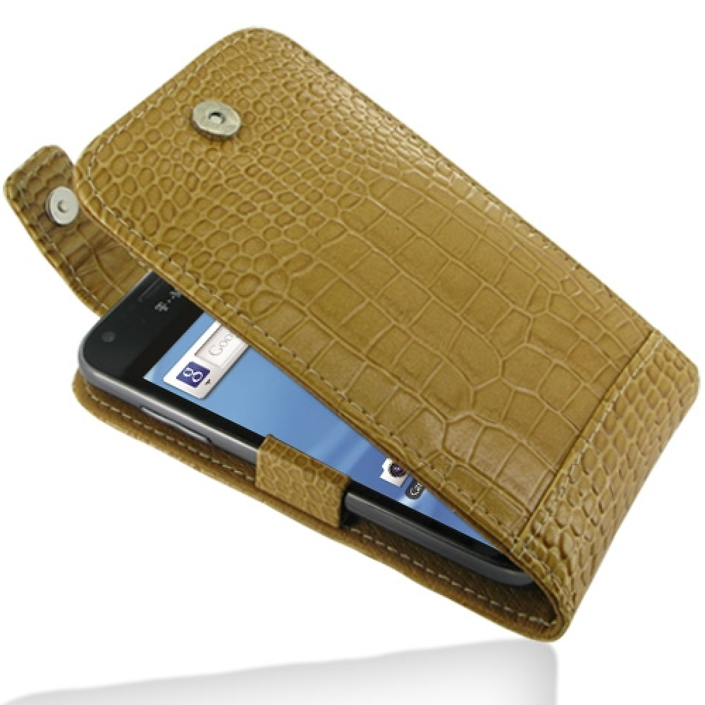 10% OFF + FREE SHIPPING, Buy PDair Quality Handmade Protective Samsung Galaxy S2 T989 Leather Flip Top Case (Brown Croc Pattern) online. You also can go to the customizer to create your own stylish leather case if looking for additional colors, patterns a