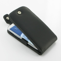 Leather Flip Top Case for Samsung Galaxy S III S3 GT-i9300