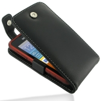 Samsung Galaxy xCcover Leather Flip Top Case PDair Premium Hadmade Genuine Leather Protective Case Sleeve Wallet